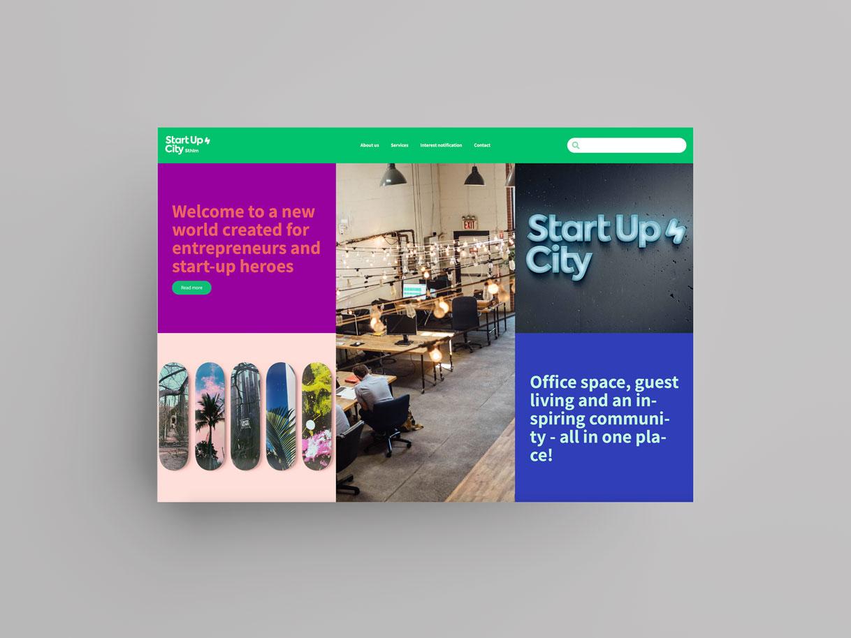 Startupcitymockup